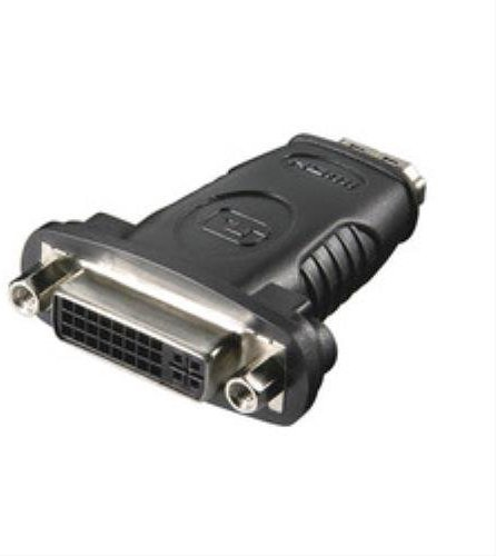 Microconnect hdm19 F24 F - Kabel Interface-Gender Adapter (HDMI, DVI-D, weiblich-weiblich, schwarz)