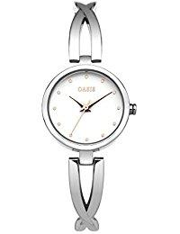 Oasis Damen-Armbanduhr Analog Quarz SB002SM