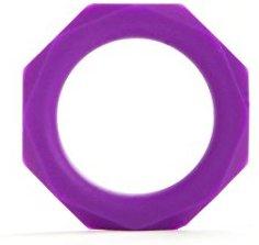Shots Toys Octagon Ring - medium - violett - Penisringe