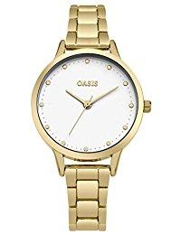 Oasis Damen-Armbanduhr Analog Quarz SB003GM
