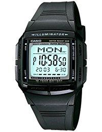 Casio Collection - Herren-Armbanduhr mit Digital-Display und Resin-Armband - DB-36-1AVEF