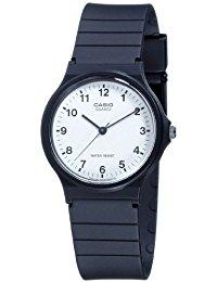Casio Collection - Unisex-Armbanduhr mit Analog-Display und Resin-Armband - MQ-24-7BLLGF