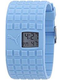Puma Damen-Armbanduhr Cell Blue Digital Quarz A.PU910832003