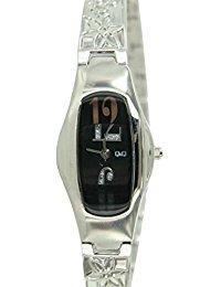 Q&Q Damen-Armbanduhr Analog Quarz Edelstahl F167-205Y