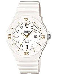 Casio Collection - Damen-Armbanduhr mit Analog-Display und Resin-Armband - LRW-200H-7E2VEF