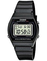 Casio Collection - Unisex-Armbanduhr mit Digital-Display und Resin-Armband - W-202-1AVEF