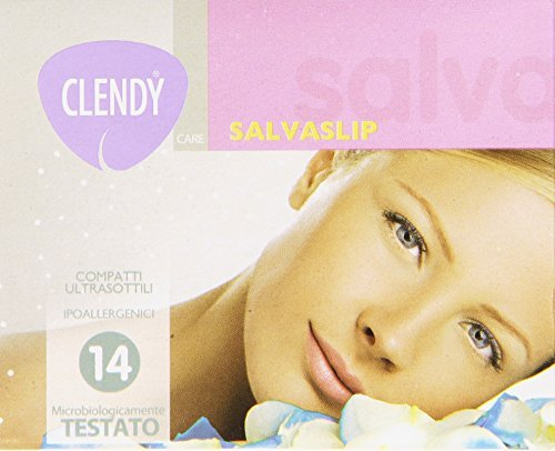 clendy-panty-liners KOMPAKT, Slim, hypoallergen - 14 Slipeinlagen