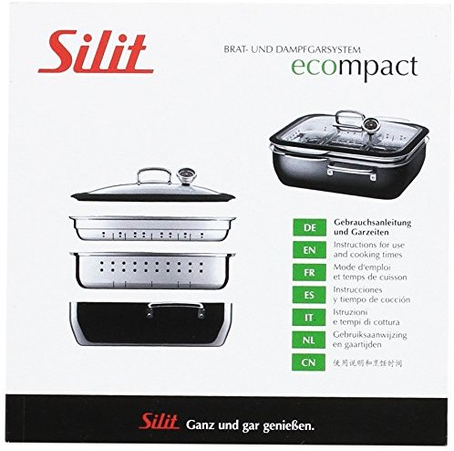 silit 2161288343 gebrauchsanleitung dampfgarer ecompact plus produkt. Black Bedroom Furniture Sets. Home Design Ideas