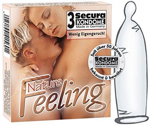 Orion 415600 Secura Kondome Nature Feeling 3er