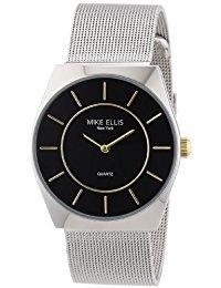 Mike Ellis New York Herren-Armbanduhr XS Analog Quarz Edelstahl M1126ASM-2