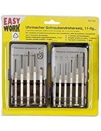 Easy Work Uhrmacher-Schraubendrehersatz 11-teilig, 261729