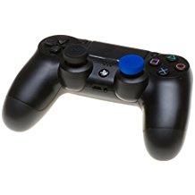 snakebyte PS4 control:caps fur Dualshock 4 Controller (4x black 4x blue)