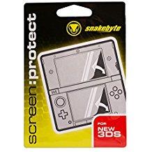snakebyte screen:protect- Screen Protector - Bildschirmschutzfolie fur Nintendo NEW 3DS