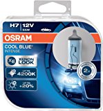 OSRAM Cool Blue Intense H7, Halogen-Scheinwerferlampe, +20%, Xenon-Look, 64210CBI-HCB, 12V PKW, Duo Box (2 Lampen): Amazon.de: A