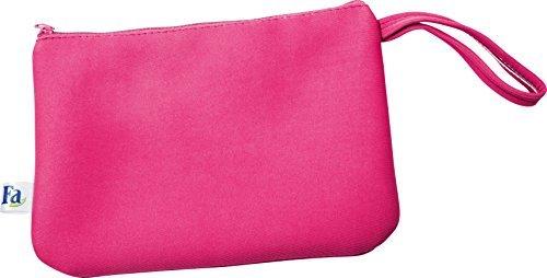 fa sommer bikini strandtasche mit reissverschluss in pink. Black Bedroom Furniture Sets. Home Design Ideas