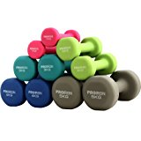 PROIRON Kurzhanteln Hanteln &Uuml,bung Neopren Hantel 5 Gewichts- und Farbvarianten (2er-Set): Amazon.de: Sport & Freizeit