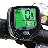 Fahrradcomputer Kabellos Bify 16 Funktionen Wasserdichte LCD Geschwindigkeit Fahrradtacho Radcomputer Tacho: Amazon.de: Sport &