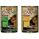 Animonda Katzenfutter Carny Adult Mix2 aus 4 Variet&auml,ten, 12er Pack (12 x 400 g): Amazon.de: Haustier