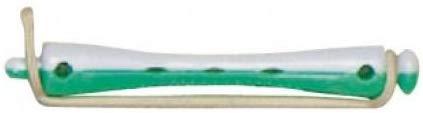 Efalock Professional Kaltwellwickler- kurz gr&uuml,n- wei&szlig,, 6 mm