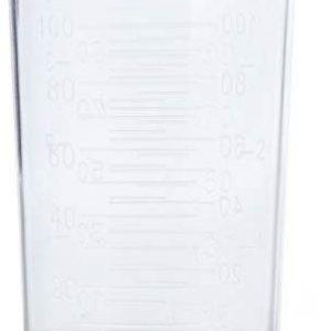 Efalock Professional Messbecher, 100 ml, 1er Pack, (1x 1 St&uuml,ck)