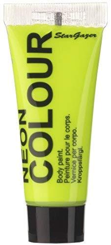 Stargazer Products UV Neon Gesichtsfarbe, Limette, 1er Pack (1 x 10 ml)