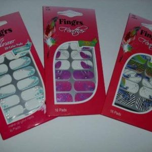 Fing'rs Feather Color Pads, 1er Pack (1 x 16 St&uuml,ck)