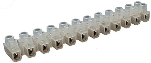 2 x Wire Connector 12 Position Screw Terminal Block 5 A