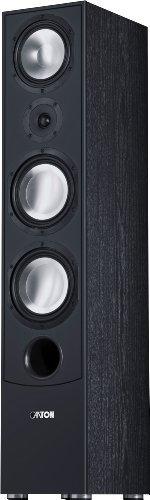 Canton GLE 490 Standlautsprecher 150-320 Watt, schwarz