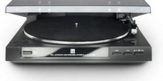 Dual DT 210 USB Schallplattenspieler (USB-Anschluss, 33-45 U-min) schwarz