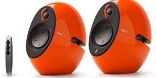 EDIFIER Luna E25 Design-Lautsprecherset mit Bluetooth (74 Watt), orange