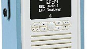 VQ (Vormals View Quest) VQ-MINI-BL Retro Mini DAB+ Radio mit Bluetooth-Funktion blau