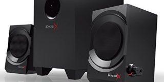 Creative Sound BlasterX Kratos S3 - Analoge 2.1 Gaming Speaker (Schwarz)