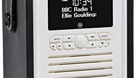 VQ (Vormals View Quest) VQ-MINI-BK Retro Mini DAB+ Radio mit Bluetooth-Funktion schwarz
