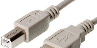 USB 2.0 Anschlusskabel 5m Stecker Typ A - Stecker Typ B