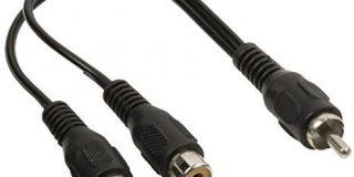 Valueline Cinch Audio Splitterkabel Cinch Stecker - 2x