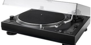 Dual DTJ 301.1 USB DJ-Plattenspieler (33-45 U-min, Pitch-Control, Magnet-Tonabnehmer-System, Nadelbeleuchtung, USB Kabel) schwar