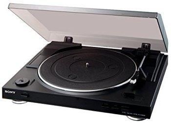 Sony PS-LX 300 USB Vollautomatischer Plattenspieler mit USB-Schnittstelle und DC-Servomotor
