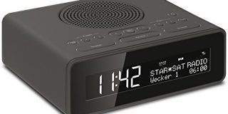 TechniSat DigitRadio 51 (DAB+-UKW Uhrenradio, Radiowecker mit zwei einstellbaren Weckzeiten, Wecker, Snooze-Funktion, Sleeptimer