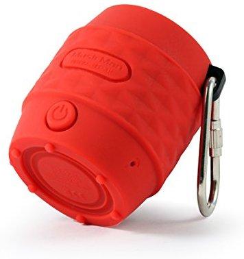 MusicMan BT-X11 wasserfest NANO Bluetooth Lautsprecher rot
