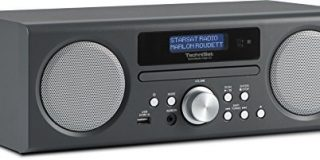TechniSat TechniRadio Digit CD - Digitalradio (10 Watt RMS, DAB+, DAB, PLL-UKW Tuner, CD-MP3 Player, USB) anthrazit