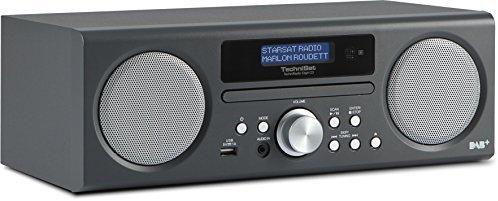 TechniSat TechniRadio Digit CD - Digitalradio (10 Watt RMS, DAB+, DAB, PLL-UKW Tuner, CD-MP3 Player, USB) anthrazit