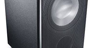 Canton AS 85.2 SC aktiver Subwoofer 200-250 Watt, schwarz