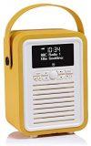 VQ (Vormals View Quest) Retro Mini DAB+ Radio mit Bluetooth-Lautsprecher - Senf