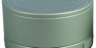 S2G BIGBASS XL von SOUND2GO - Bluetooth Lautsprecher mit USB OTG, Bluetooth-Adapter und Freisprecheinrichtung - silber