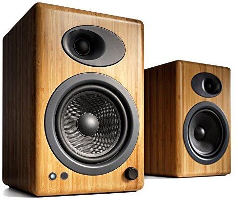 Audioengine 5+ Aktivlaustprecher Bambus