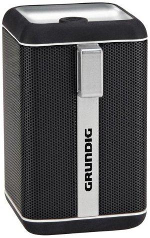 Grundig GSB 110 Bluetooth Lautsprecher schwarz-silber