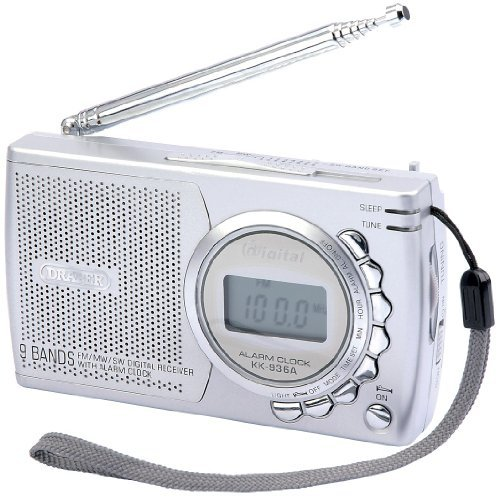 DRAPER PORTABLE RADIO (2 x AA BATTERIES)