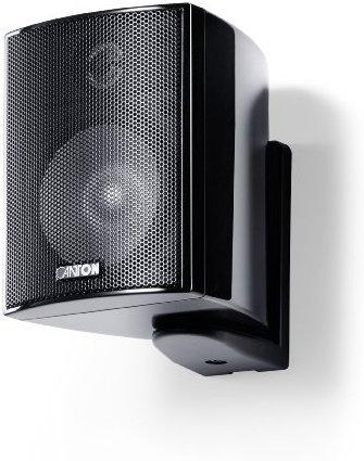 Canton Plus MX.3 Kleinlautsprecher (40-70 Watt) schwarz hochglanz (Paar)