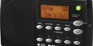 Sangean DPR65 Tragbares Digital-Radio (LCD-Display, DAB+, FM-RDS) schwarz