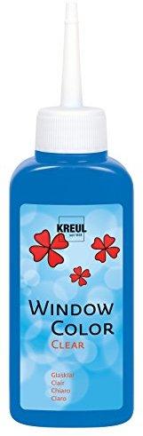 Kreul 40211 - Window Color Glasklar, 80 ml, dunkelblau
